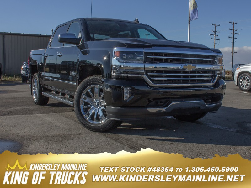 New 2018 Chevrolet Silverado 1500 High Country   Navigation